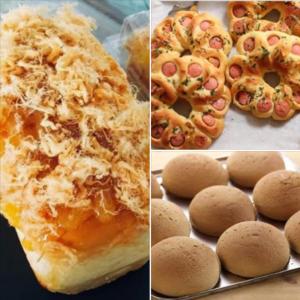 lớp 3 loại bánh mì (1 buổi)